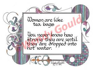Ladies Tea Quotes Pic #20