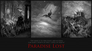 Paradise Lost quote wallpaper