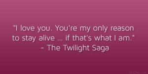 Famous Love Quotes From Twilight Saga ~ Twilight saga love quotes ...