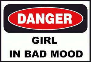 Danger bad mood