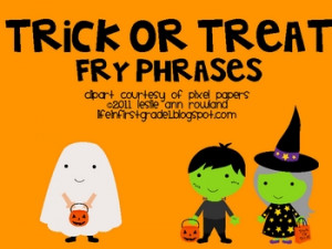 Halloween Words And Phrases Halloween fry phrases