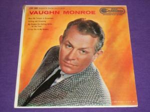 Vaughn Monroe 7 quot Vinyl 45 RPM Record amp Picture Sleeve RCA CAE ...