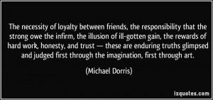 Trust and Loyalty Quotes