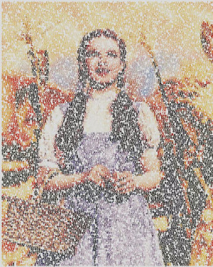 Dorothy Made Of Wizard Of Oz Quotes Mixed Media