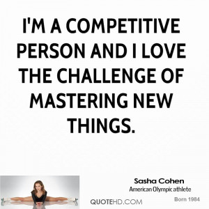 Sasha Cohen Sports Quotes