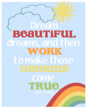 Inspirational Art for Children - LDS Quote - 8x10 Art Print