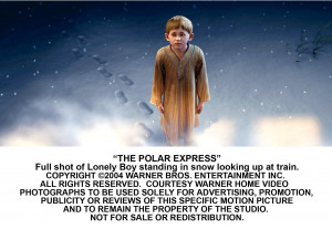 Pictures from the Polar Express (click on any picture below to enlarge ...