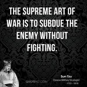 Sun Tzu War Quotes