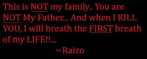 NINJA ASSASSIN: Raizo Quote 3 by Princess-Kraehe