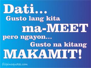 Tagalog Love Quotes Ako Lang