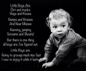 Little boys.....