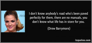 More Drew Barrymore Quotes