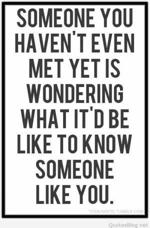 Meeting someone love quote on imgfave