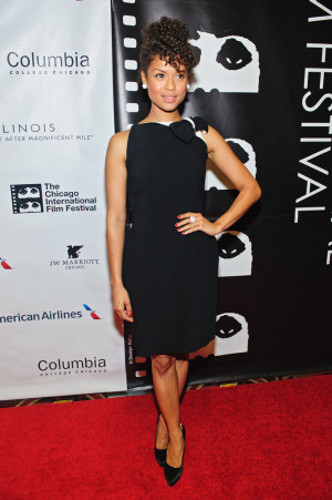Actor Gugu Mbatha-Raw attends a screening of