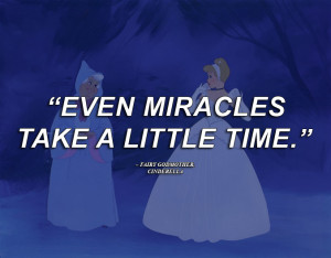 disney quotes fairy godmother cinderella fairy a little miraclestake ...