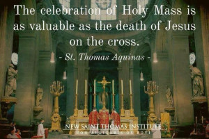 . ~ St. Thomas Aquinas: Catholic Mass, Saint Thomas, Religious Quotes ...