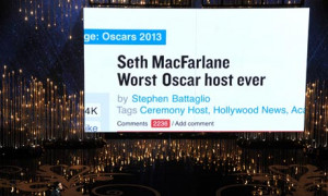 Seth Macfarlane hosting the Oscars 2013, quotes, photos, jokes and ...