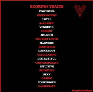 Quotes About Scorpio Woman