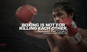 Manny Pacquiao Quotes