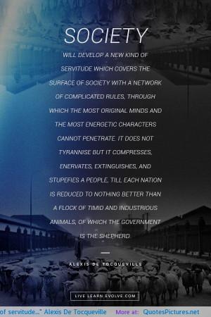 Alexis De Tocqueville Quotes