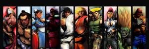 Street Fighter IV Twitter Header Cover