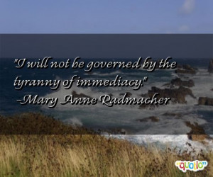 immediacy quotes follow in order of popularity. Be sure to bookmark ...