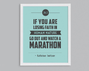 Funny Motivational Quotes Marathon ~ Popular items for running quote ...