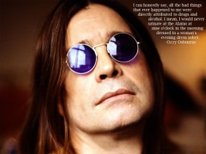 Ozzy Osbourne's quote #5