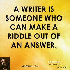Riddle Quotes
