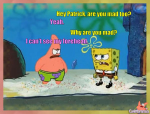 Patrick Star Quotes Like a Dummy