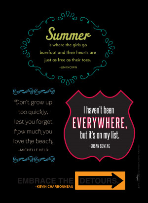 Travel And Summer Quotes...