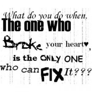 Gangsta Quotes About Love And Life: The One Who Broke Your Heart Is ...