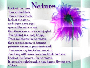 beautiful nature quotes and sayings