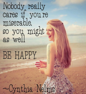 Nice Girls Happy Quotes & Pictures.