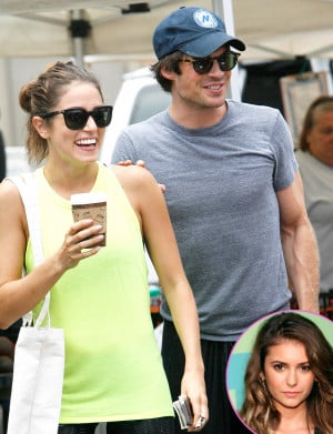 Nikki Reed and Ian Somerhalder Engaged