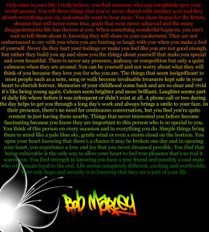 Bob Marley Quote 4 by ItachiUchihaIsMine