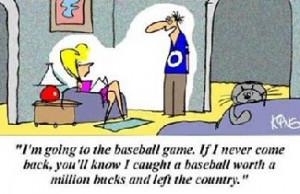 Funny Baseball Jokes and Amusing Stories