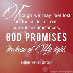 Lds Quotes On Hope Hope