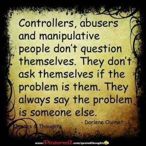 Manipulative. good to remember! in life we all meet a few. #co ...
