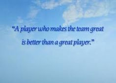 ... great is better than a great player sport quote more sports quotes