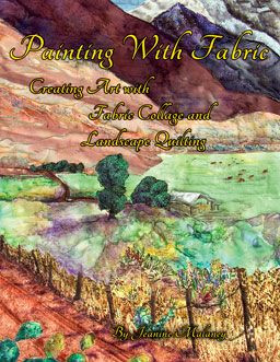 Book Cover for Painting with Fabric