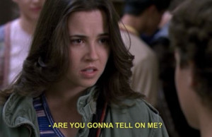 Freaks Only Quotes Freaks and geeks: quotes