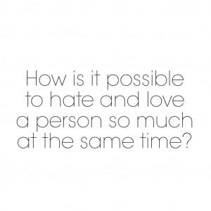 Hate Love Quotes Tumblr I hate love quotes tumblr
