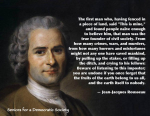Rousseau Quotes Friday, may 25, 2012