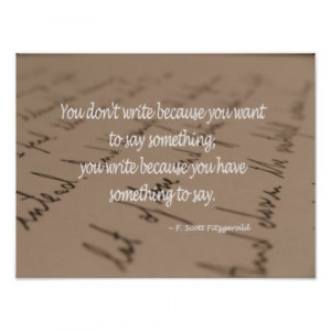 Gifts with Quotes on Writing for Writers