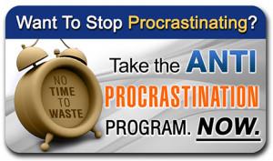 Anti Procrastination Program Eliminate Procrastination in Just 4