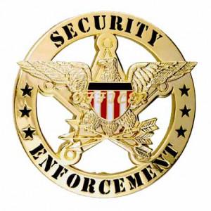 Security Enforcement Officer Badges