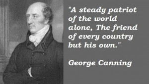 George canning famous quotes 2