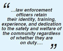 Quotes Law Enforcement Duties