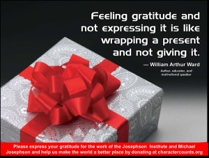 Express Your Feelings Quotes Quote: feeling gratitude and
